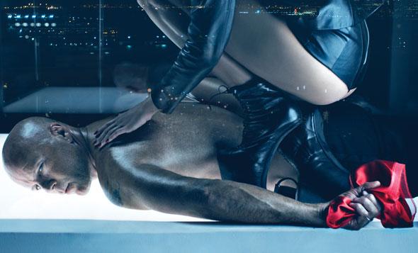 Bruce Willis in BDSM photo shoot